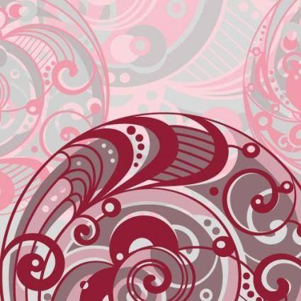 Spiral pattern background 04 vector