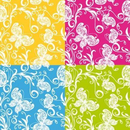 free vector Exquisite shading background 01 vector