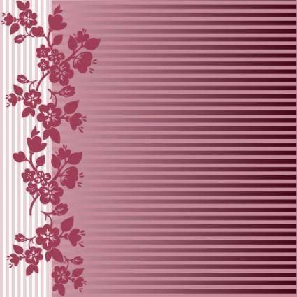 free vector Red background pattern 01 vector