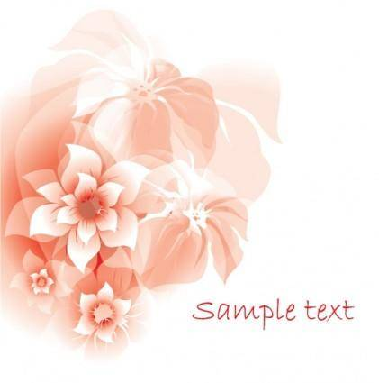 free vector Gorgeous red pattern background 05 vector