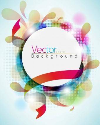 Symphony of dynamic background pattern 01 vector