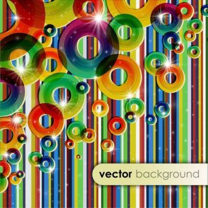 free vector Dynamic pattern background 01 vector