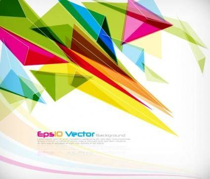 free vector Dynamic pattern background 03 vector