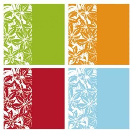 Fine pattern background vector 18194
