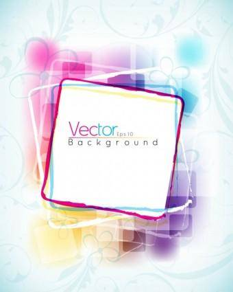 Symphony of dynamic pattern background 02 vector