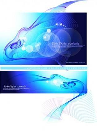 Phantom stunning background vector 2 flow line