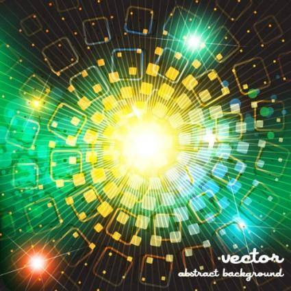 Dazzling bright background stars 01 vector