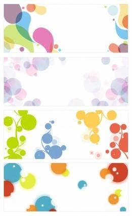 Background of vector graphic simplicity trend
