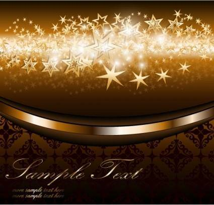 free vector 4 bright starlight background vector