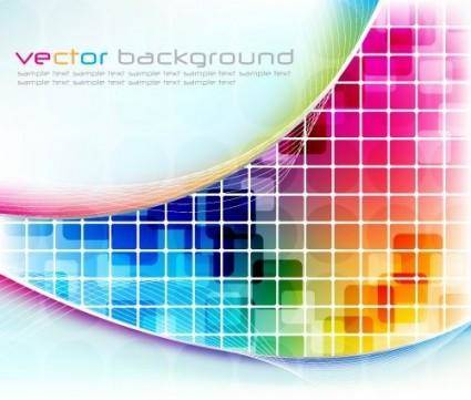 Symphony box background vector 2