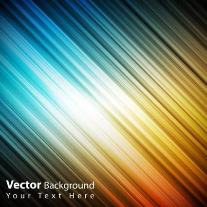 free vector Colorful vector background color of the beam 1