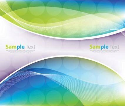 free vector Vector dynamic background 02