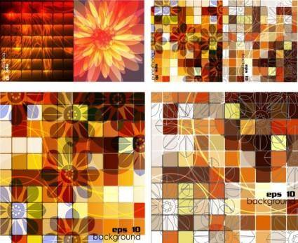 Trend vector 2 background grid box