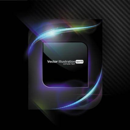 free vector Cool halo background vector 3