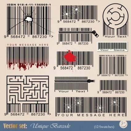 Barcode 02 vector