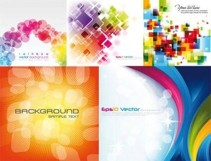 Cool colorful vector background 18339