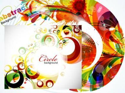 free vector 2 background vector fashion trend