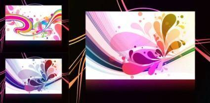3 the trend of the background vector
