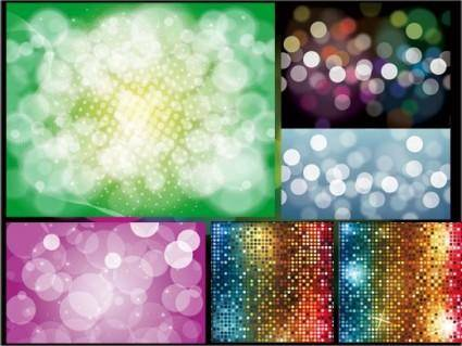free vector Bling bling shiny dissolved figure vector background