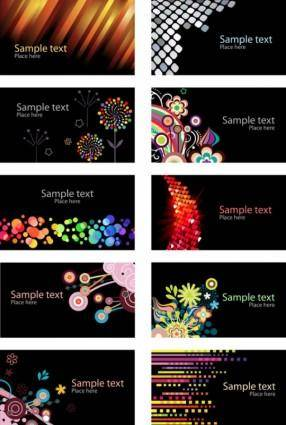 Beautiful card background vector