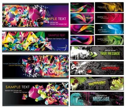 The trend of several ultrabeautiful vector background