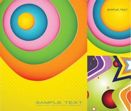 free vector Colorful background vector graphic