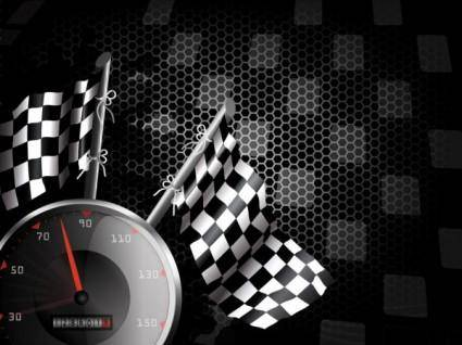free vector Racing theme background pattern 04 vector