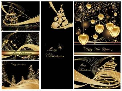 free vector Christmas background christmas dream vector background ii