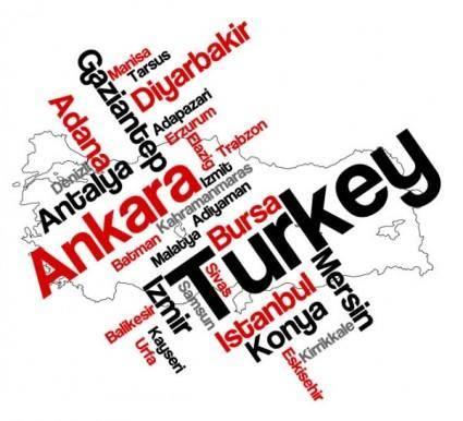 free vector Turkish national territory 03 vector