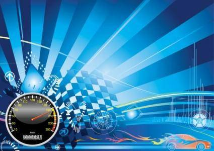 Racing theme background pattern 01 vector