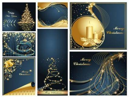 free vector Christmas background christmas dream vector background a