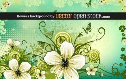 free vector Petal background vector