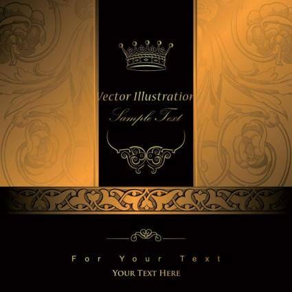 free vector European gorgeous classic pattern background 03 vector
