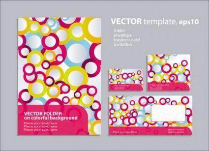 Ring element of the background pattern 01 vector
