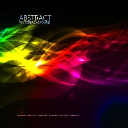 free vector Colorful fashion background 03 vector