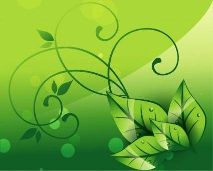 free vector Elegant Nature Background
