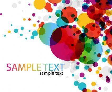 Colorful Rainbow Vector Background