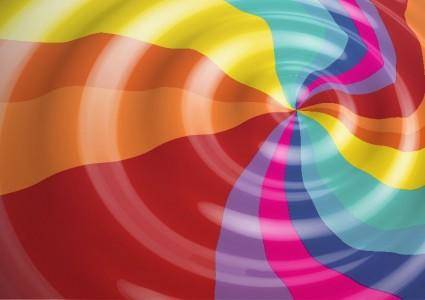 free vector Rainbow Color Vector Background