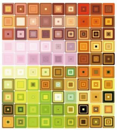 free vector Geometric Mosaic Vector Background
