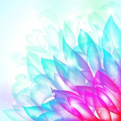 free vector Dream Flower Vector Background