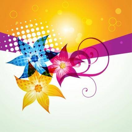 Fashion Color Background Vector