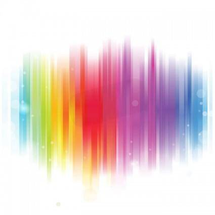 free vector Colorful Glowing Background Vector