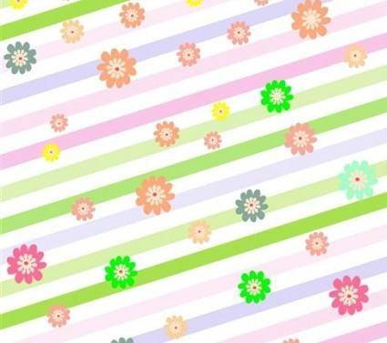 Free Colorful Easter Vector Background