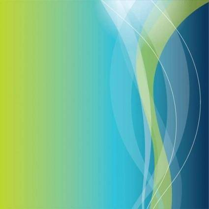 Blue Curve Vector Background