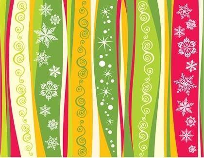 free vector Snowflake Christmas Background Vector Material
