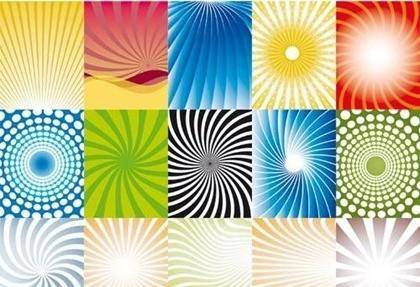 free vector 39 Free Vector Beams and Rays Backgrounds