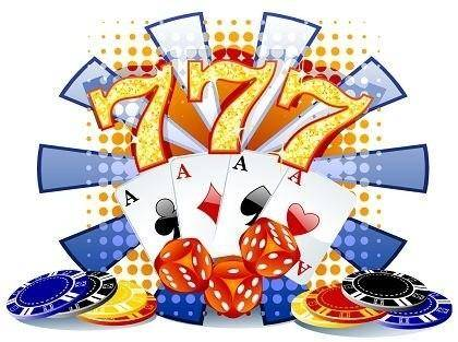 free vector Casino Vector Background