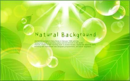 free vector Natural Green Background Vector