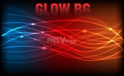 free vector Vector Glow Background
