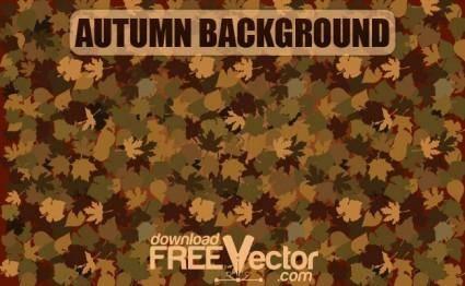 free vector Vector Autumn Background
